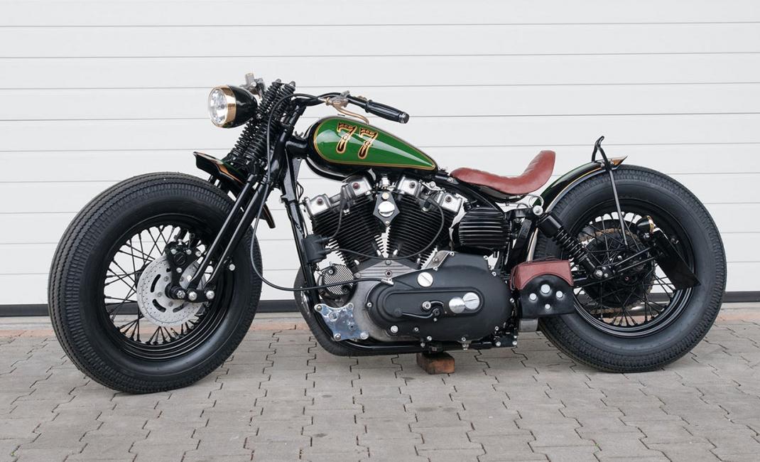 Bobster 77 (1st Platz Harleydome 2015) - HBS Customs GmbH